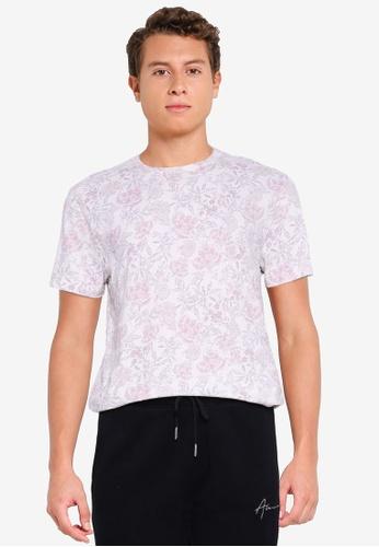 Abercrombie & Fitch white Straight Hem Novelty T-Shirt F5A7FAA07E05BDGS_1