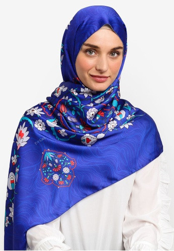 The Ciks blue Mediterranean In Persia Shawl A9DA7AAAC585C8GS_1