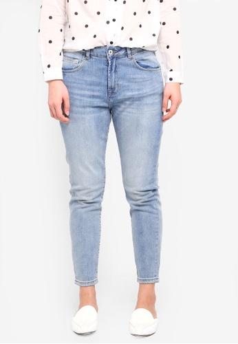ICHI blue Lulu Haze Bright Blue Jeans EEF18AAA2F96C7GS_1
