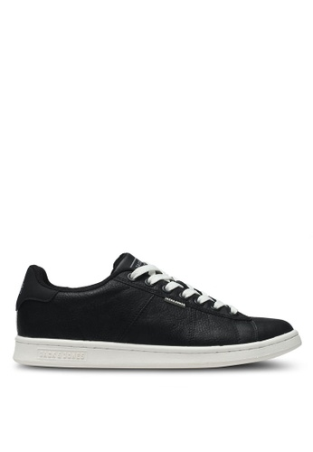 Jack & Jones black Jfwbane Pu Ss Anthracite 1EB98SHAB1B843GS_1