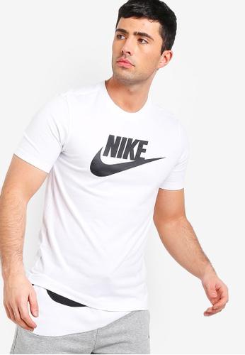 4a3e0f10 Buy Nike As Men's Nsw Icon Futura Tee Online on ZALORA Singapore
