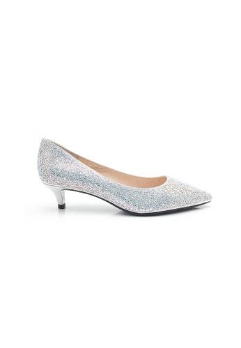Elisa Litz silver Leane Low Heels (Silver) 17666SHB6237B3GS_1