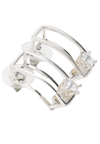 San Marco silver Cubez Earring 06B0AAC9296CADGS_1