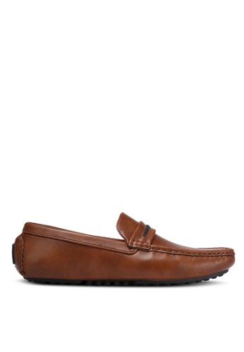 Albertini brown Casual Loafers AL779SH0RJTJMY_1