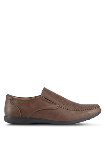 Rocklander brown Rocklander Loafers Shoes 3E058SH24B3908GS_1