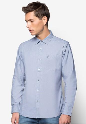 細格紋長袖襯衫, 服esprit tsim sha tsui飾, 服飾