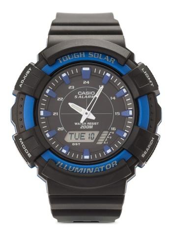 Casio multi Casio Men's Solar Black Resin Band Watch CA843AC61VHQMY_1