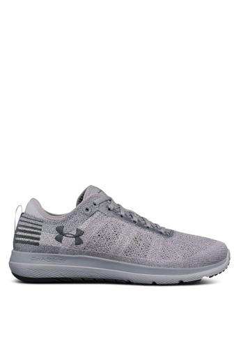 Under Armour grey UA Threadborne Fortis Shoes UN337SH0SU3JMY_1