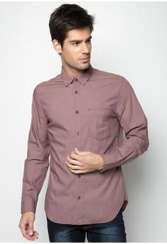 Men Mini Check Shirt