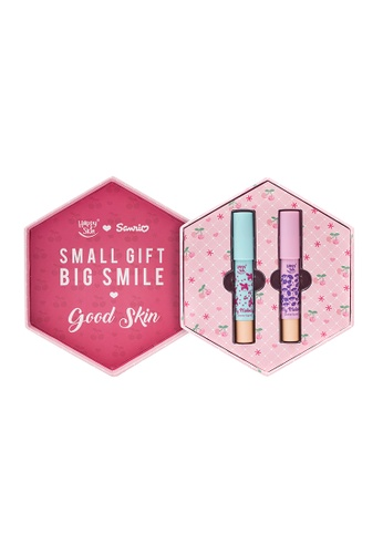 Happy Skin red Sanrio Moisturizing Matte Lippie Set HA428BE0J5QVPH_1