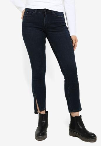 CALVIN KLEIN blue Mr Skinny Cropped Jeans - CK Jeans 0EAA1AAFD4DEFDGS_1