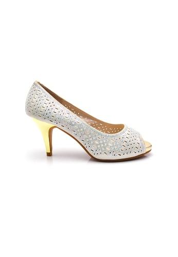 Elisa Litz silver Willie Heels (Silver) EL365SH0HAXJSG_1