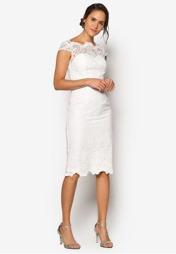 Raynie 蕾絲連身裙, 服esprit官網飾, 洋裝