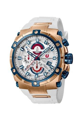 Charles Jourdan gold Charles Jourdan Men Watch Chronograph CJ1022-1512C CH774AC0VZ05ID_1