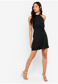 0246c888e58 41% OFF MISSGUIDED Satin Halter Neck Mini Dress S  63.90 NOW S  37.90 Sizes  14