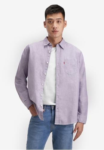 Levi's blue Classic One Pocket Shirt 8C256AA72C29E5GS_1