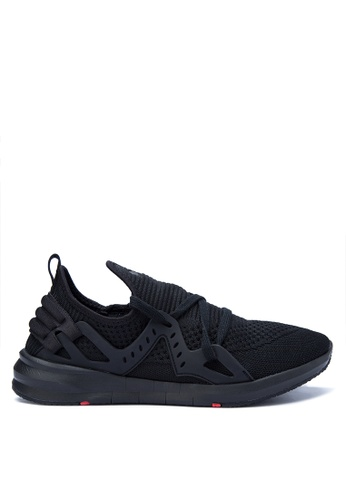 G&G black Coolway Men's Sneakers GG012SH0K3MFPH_1