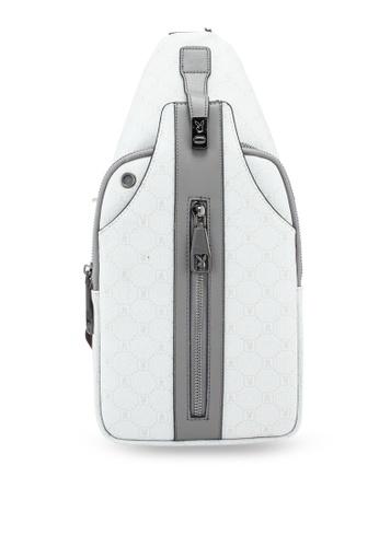 Playboy white Chest Bag DEB4FAC21995D9GS_1