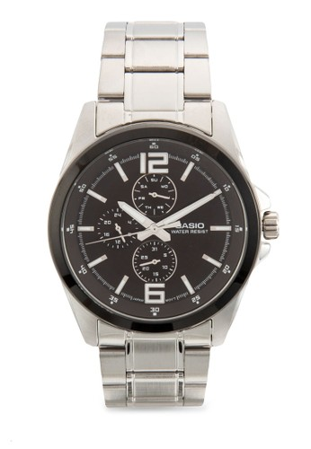 esprit 台中三指針不銹鋼圓錶, 錶類, 飾品配件