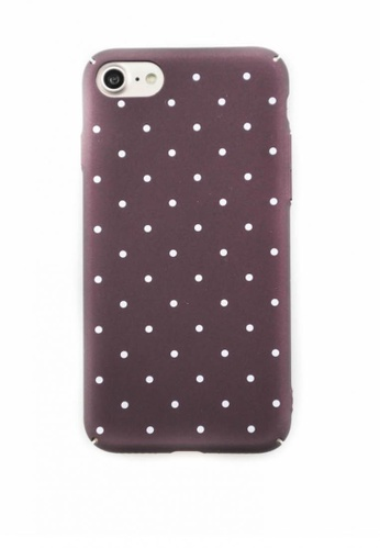Fancy Cellphone Cases multi Polka Dots Hard Case for iPhone 7 FA644AC42YDHPH_1