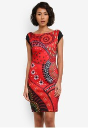 Desigual red Corban Dress DE160AA0S546MY_1