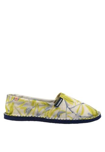 Havaianas beige Origine Orquideas Slip-on Sneakers 0A6A5SH854789FGS_1