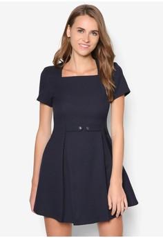 Collection Squared Neckline Dress