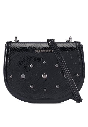 Love Moschino black LOVE MOSCHINO Sling Bag LO478AC0SXWDMY_1