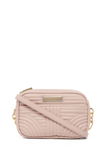 Forever New beige Cameron Quilted Camera Bag 67D31AC5A92C19GS_1