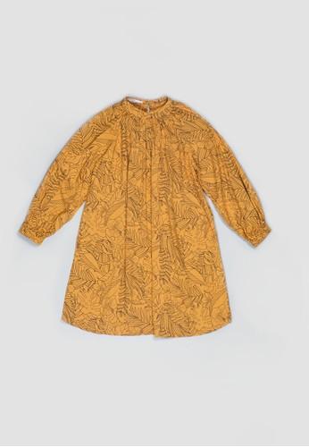 Veyl orange Veylkids Octa Dress D3731KA9182AA6GS_1