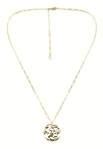 Pieces gold Maya Necklace Plated DDB1FAC8F11611GS_1