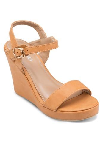 經典楔esprit outlet 桃園形涼鞋, 女鞋, 鞋