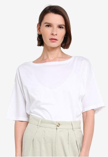 niko and ... white Basic T-Shirt B6833AA8DAC817GS_1
