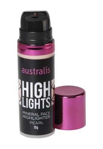 Australis beige Australis Mineral Liquid Highlighter Pearl AU782BE04DJJSG_1