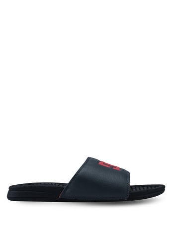8f405fe1f4ca DC Shoes black Bolsa Sandals 49E3CSHB88D61CGS 1