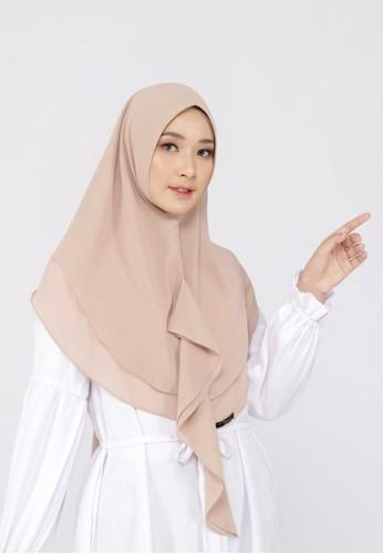 Mimamim beige Khimar Alia  Syar'i 530D4AAC3FFEE0GS_1