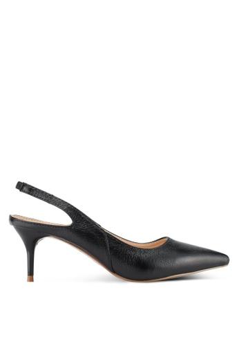 Something Borrowed black Pointed Slingback Heel FA438SH8411399GS_1