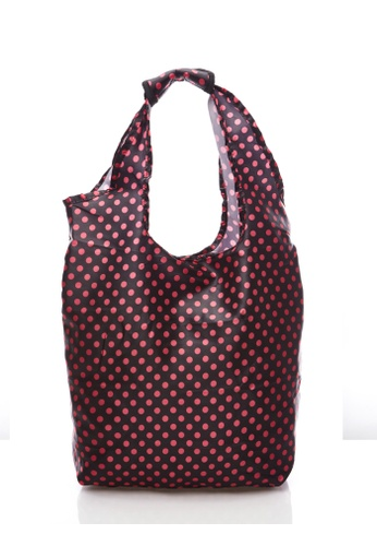 LYCKA black and red Lycka L090 Fashion Shopping Handbag LY256AC12RZJHK_1