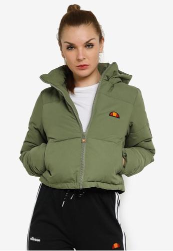 Ellesse green Parum Padded Jacket 03B0CAA6750293GS_1