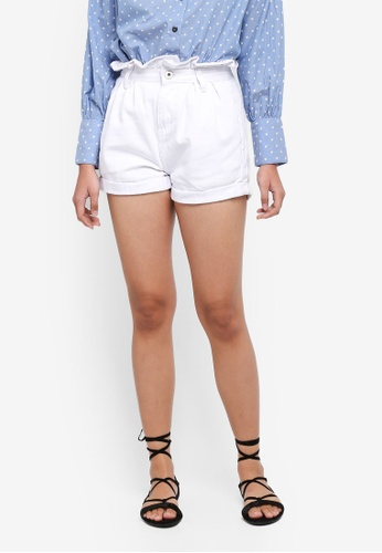 Factorie white Tribute Shorts 06ED2AACDE105AGS_1