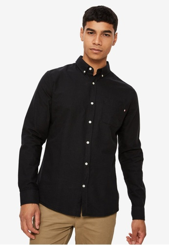 Cotton On black Brunswick Shirt CO372AA0SSAEMY_1