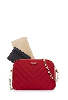 01d8861ab34e6 BONIA red Red Massima Crossbody Bag S 787C7AC1567C04GS 1