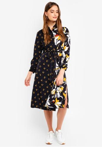 6d106c7db99 Buy French Connection Aventine Drape Maxi Shirt Dress