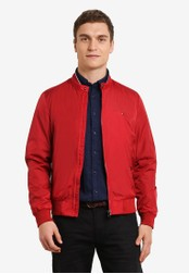 Tommy Hilfiger red WCC WYATT BOMBER TO729AA0GAMFSG_1