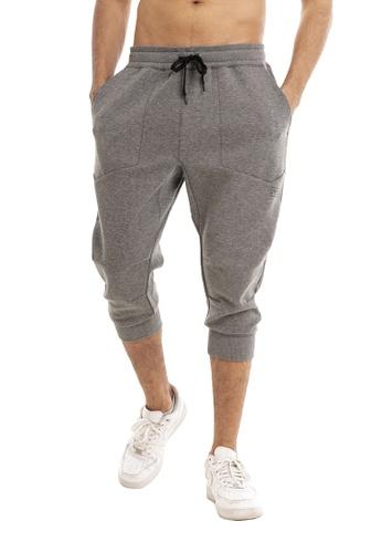 RYZ grey RYZ Mobility 3/4 Cotton Grey Pants. 91BB4AA50A851EGS_1