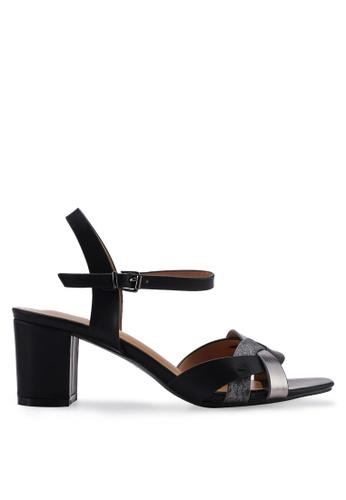 Divine Factory 黑色 Lucinda Heels B30EASHCC3FC57GS_1