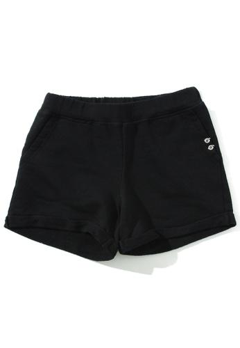 Diesel black Girl's Shorts BD271KA1499BB6GS_1