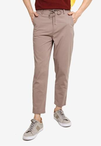 niko and ... grey Casual Pants 52720AAD9D5659GS_1