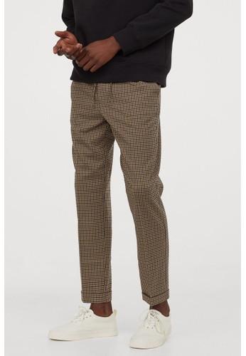 H&M beige Joggers Slim Fit 63927AAC82C43CGS_1