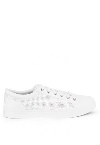 World Balance white Bertrand MS Sneakers 527C7SH16E4591GS_1